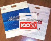 Supermarket Plastic Die Cut Handle Bags