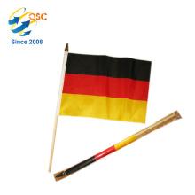 niedrigster Preis von Polyester Deutschland Handfahne International
