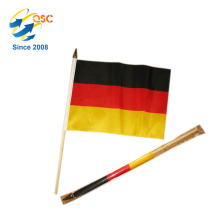 le plus bas prix de polyester Allemagne main drapeau International