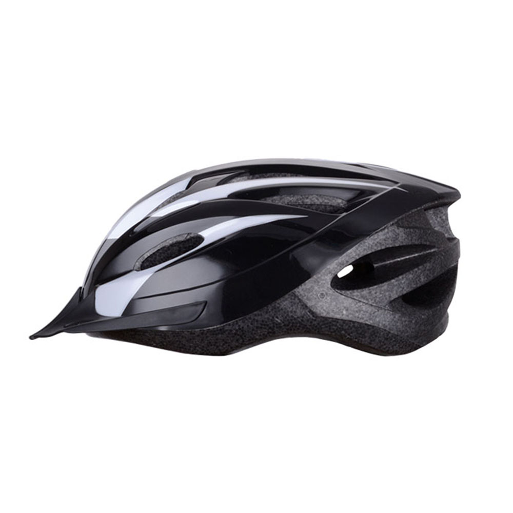 Black Cycling Helmet