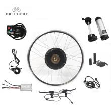 28inch jante 48V 1000W kit de moteur de vélo électrique / kit de convension de vélo électrique