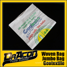 Sac tissé en plastique de sac d'emballage de BOPP pp (W-1065)
