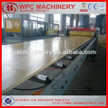recycle plastic+ Wood(rice husk/straw/wood) plastic(PP/PE/PVC ) composite wpc production line wpc machine
