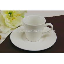 Billige keramische moderne Teetasse und Untertasse Großhandel
