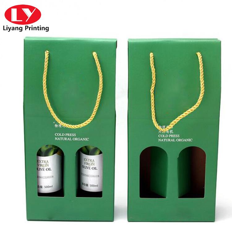 Double Bottle Wine Packaging Box