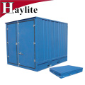 6f 7f 8f 9f 10f plegable pequeño contenedor de almacenamiento plegable para la venta