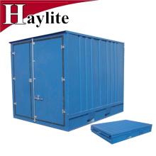 Recipiente de armazenamento pequeno dobrável dobrável do transporte de 6f 7f 8f 9f 10f para venda