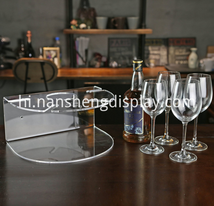 Stemware Storage Display Rack Stand