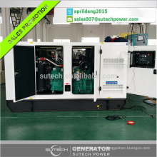 Silent diesel generator 250kva powered by UK engine 1506A-E88TAG3