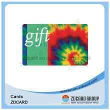 Hico Silver Magnetic Stripe Smart Card para o cartão de presente
