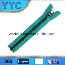 Europen Style Plastic Zipper 8 # Open End Zipper