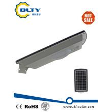 10W LED alumínio luz de rua solar
