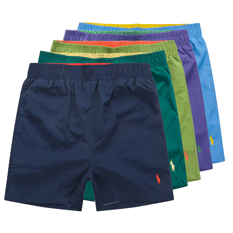 Men's Beach Shorts With Elastic Waist