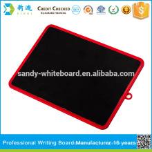 Pvc chalkboard kids writing board