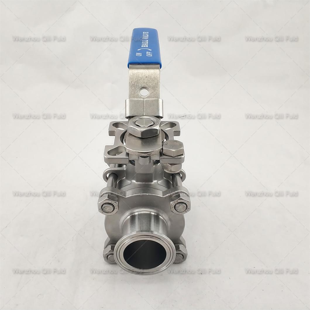 Sanitary ball valve (17)