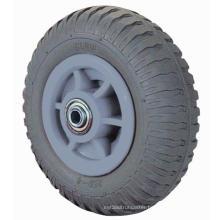 Heavy Duty Foam Rubber Wheel (Gray)