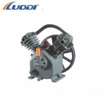 2hp small electric 2 cylinder belt driven air compressor pump