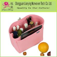 Felt Container Kosmetiktasche Organizer Aufbewahrungsbox Tasche Organisieren Handtasche