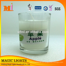 Wholesase Home Decoration e Glass Jar Shape Candles para cerimônias