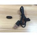 Pin à poteau magnétique Rectangulaire standard à 3 broches Connecteur de câble de charge mâle et femelle