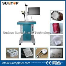 Alumínio Qr código de marcação a laser / Laser alumínio liga gravura máquina