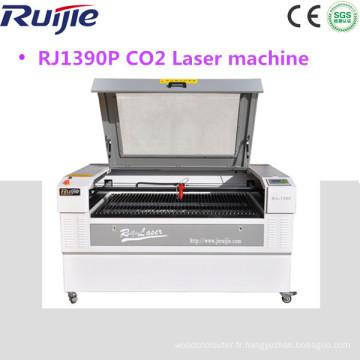 1390 150W CNC type de laser CO2 et mode de refroidissement par eau en bois acrylique marbre / granit pierre machine de gravure laser