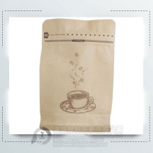 500g Resealable Flat Bottom Coffee Bag