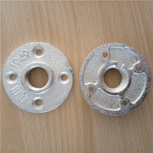 "Galvanized cast iron floor flange 3/4"" pipe fittings"