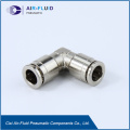 Air-Fluid Pneumatic Metal Equal Elbow Connect Fittings