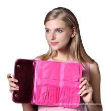 Personaliza la caja del cepillo del maquillaje / la bolsa cosmética del cepillo