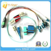 MPO / LC Fibra Óptica Assembly (Fibra óptica Jumper)