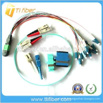 MPO / LC Optique Fibre Optique (Jumper en fibre optique)