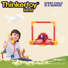 Buntes hartes Plastikbaby-pädagogisches Spielzeug