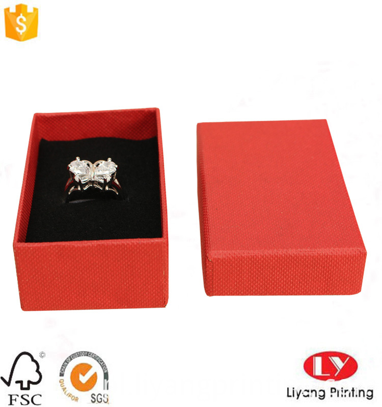 ring cardboard packaging box
