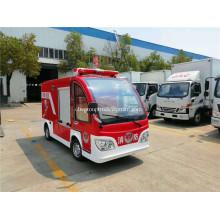 Electric four-wheel fire truck 1000L