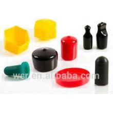 tapas de goma moldeadas de plástico para botellas
