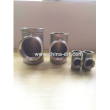 Tee Pipe Fittings, Factory