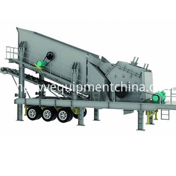 Mobile Gravel Crushing Plant