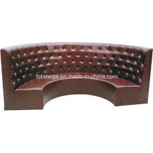 Sofá de tapicería de restaurante Semicircle (FOH-CBCK65)