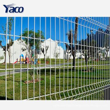 Utilisation de maison et de jardin Clôture galvanisée plongée chaude de haute sécurité, clôture 358