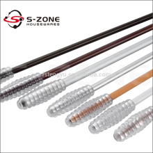 Metal Curtain Tension Rod Curtain Wands Of Curtain Accessory