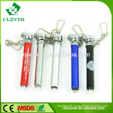 Pen shape car tire pressure gauge with keychain