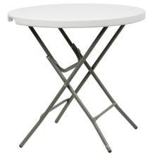 Mesa redonda de barril redondo de 80 cm, mesa de café