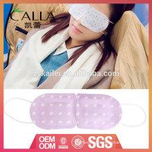venta al por mayor máscara de ojo de sueño térmico para alivia la fatiga de fatiga ocular