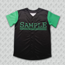 Jersey de béisbol de sublimación de poliéster clásico