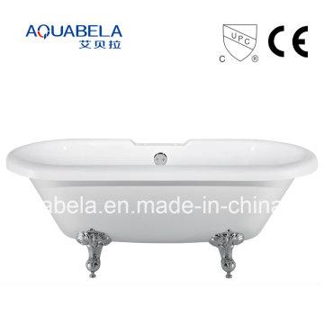 2016 El nuevo estilo CE aprobó las bañeras de acrílico de Chawfoot con las piernas