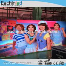 Alquiler de interior gran pantalla LED P2.5 P3 P4 para fachada de medios