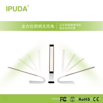 A lâmpada recarregável principal do candeeiro de mesa da lâmpada do diodo emissor de luz de Dimmable conduziu a lâmpada