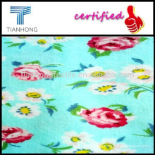 Anti-pilling Beauty Florals Printing Flannel Fabric/Soft Blanket Cotton Fabric/Cotton Printing Fabric for Children Sleepwear