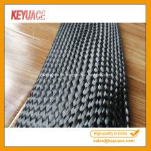Mangas de cable trenzado de fibra de carbono